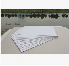 芯层加厚双面白纸板 降低原料成本